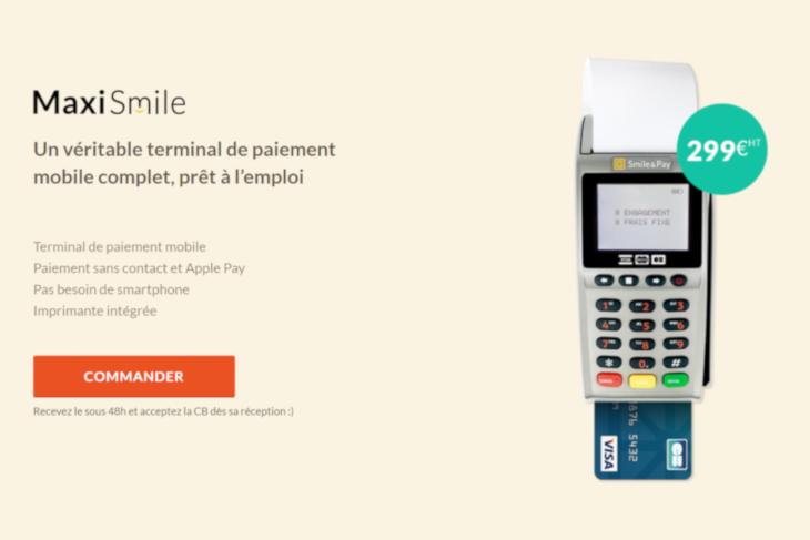 terminal de paiement maxi-smile