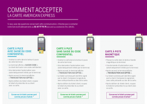 accepter American Express