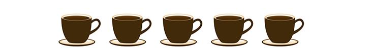 5 cafés
