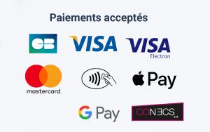 paiements acceptés smile&pay
