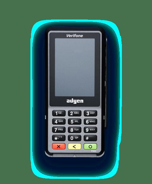 verifone p400 Adyen
