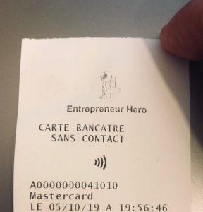 ticket de caisse BamPay