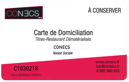 carte de domiciliation conecs