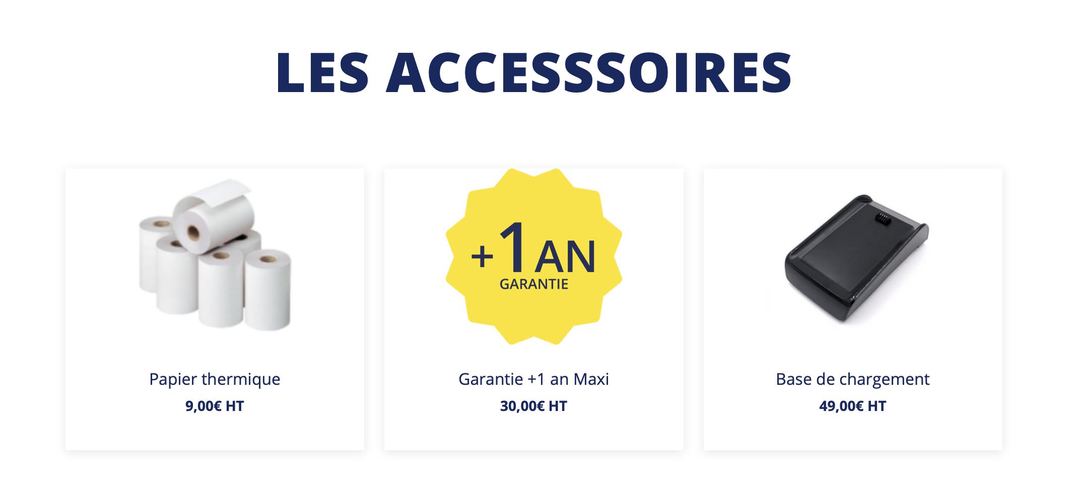 Accessoires maxismile