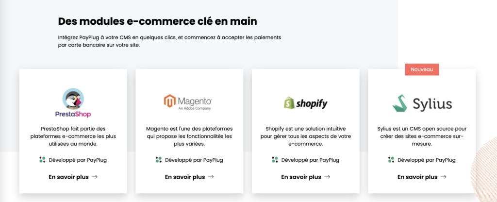 payplug ecommerce