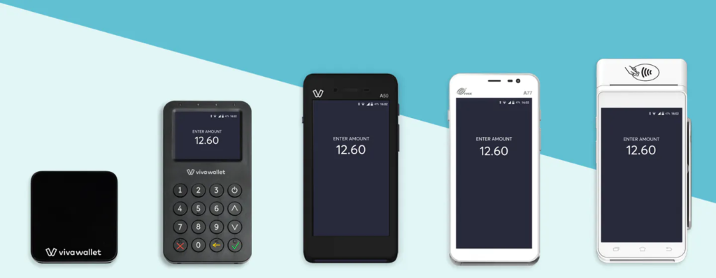 viva wallet gamme de terminaux de paiement