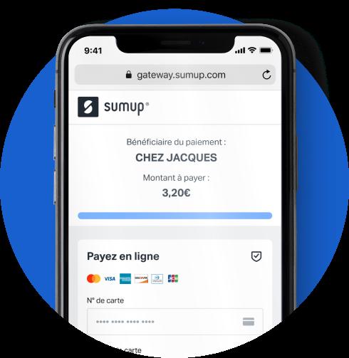 paiement par lien SumUp